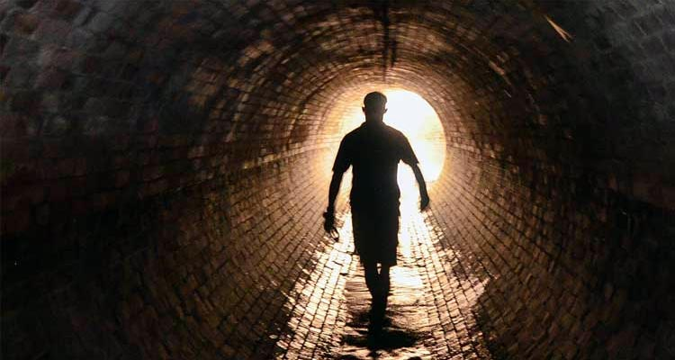 Navigate the city's underground tunnels