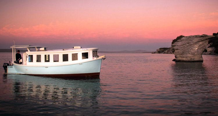 Rent a houseboat in Kraalbaai