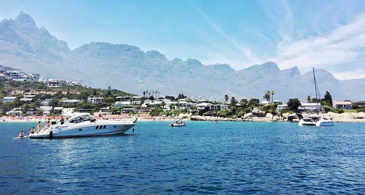 Enjoy sundowners on a yacht in Clifton