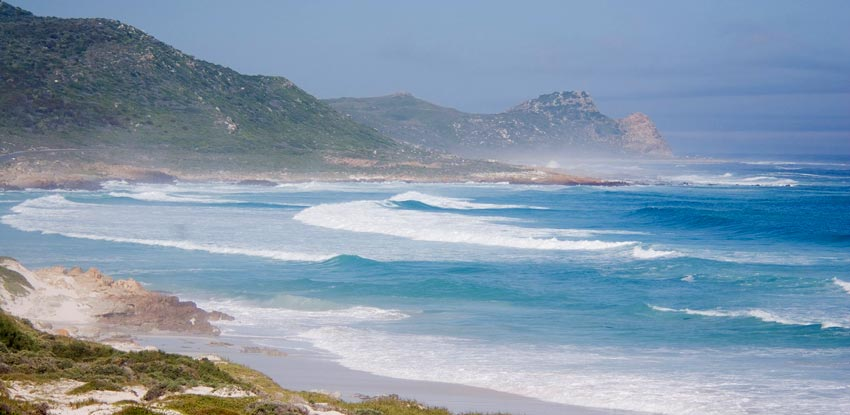 Platboom Beach Cape Town South Africa
