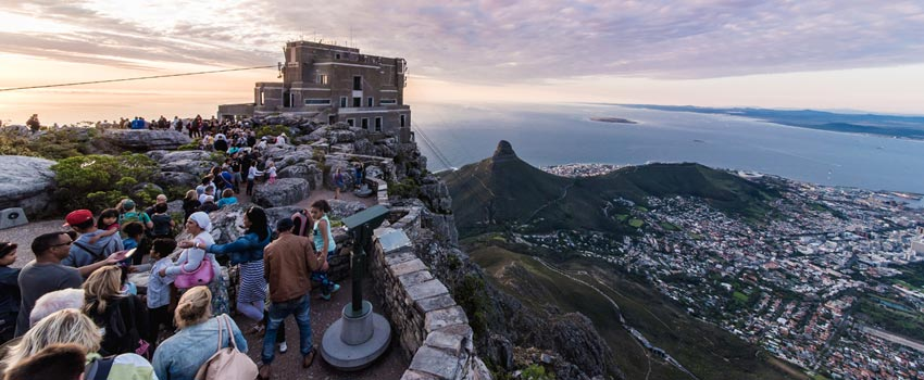Table Mountain Cableway in Cape Town
