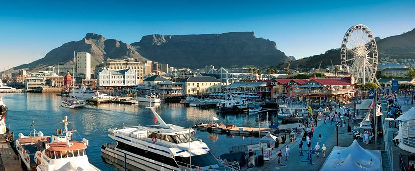 V&A Waterfront in Cape Town - South Africa
