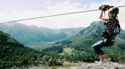 Ziplining in Elgin (Xtr)